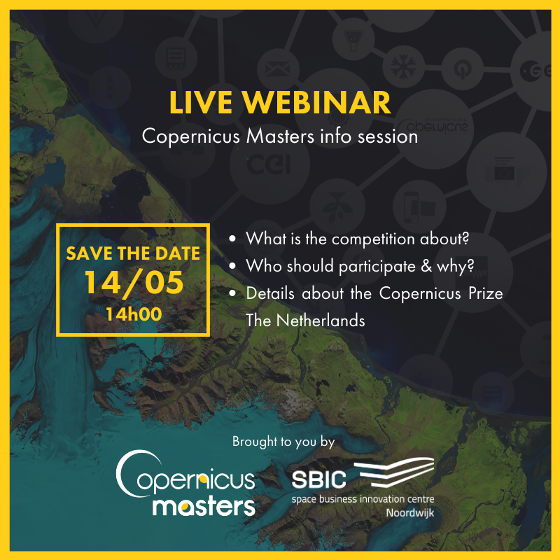Copernicus Masters webinar