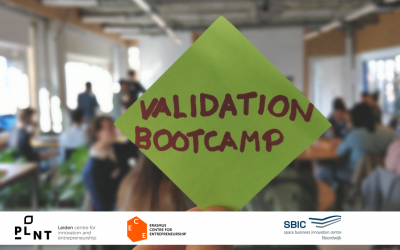 11 startups at PLNT Leiden Validation Bootcamp