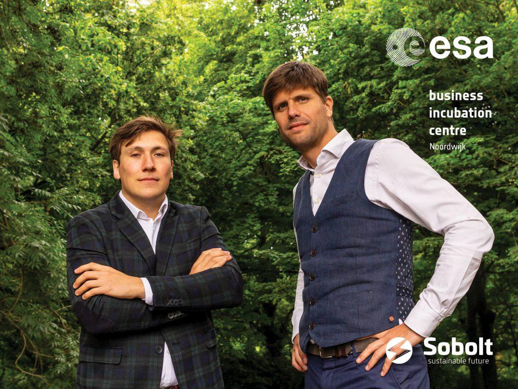 Sobolt founders Danny Hetharia and Jeroen van Zwieten.