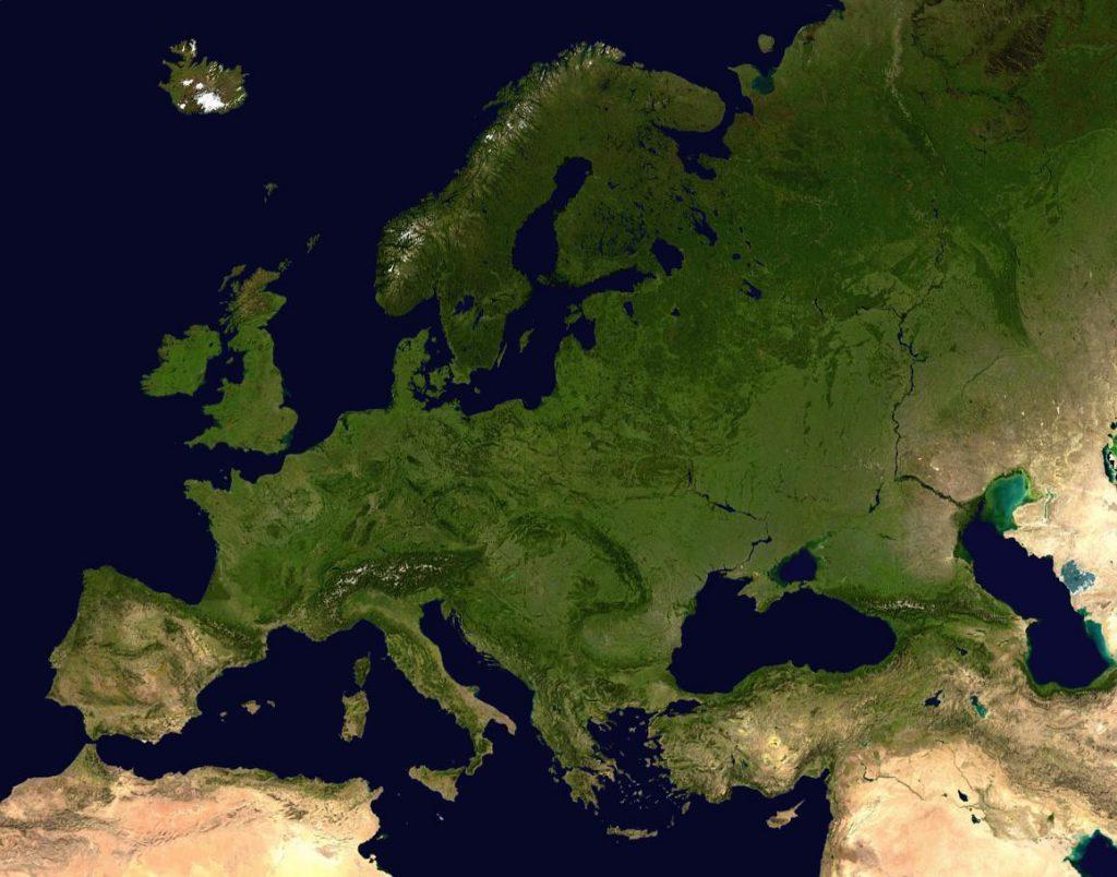 Europe by satellite