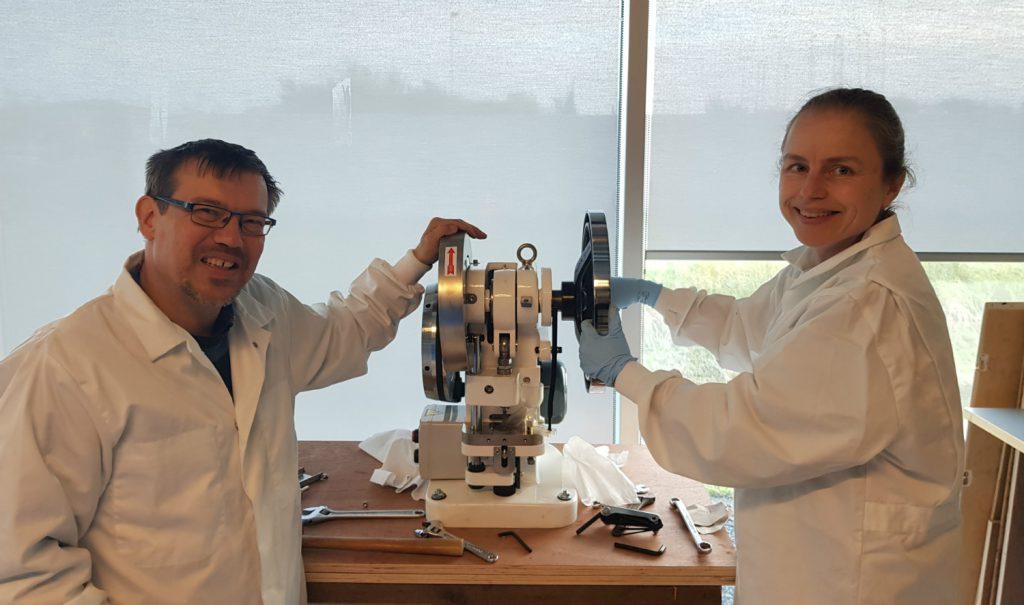 HDES at work in the ESA BIC Noordwijk fablab