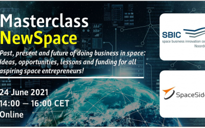 Masterclass: NewSpace for Aspiring Entrepreneurs (June 24)